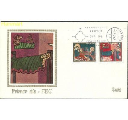 Znaczek Hiszpania 1971 Mi 1956-1957a FDC