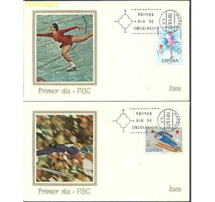 Znaczek Hiszpania 1972 Mi 1969-1970a FDC