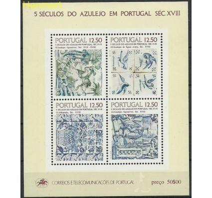 Znaczek Portugalia 1983 Mi bl 42 Czyste **