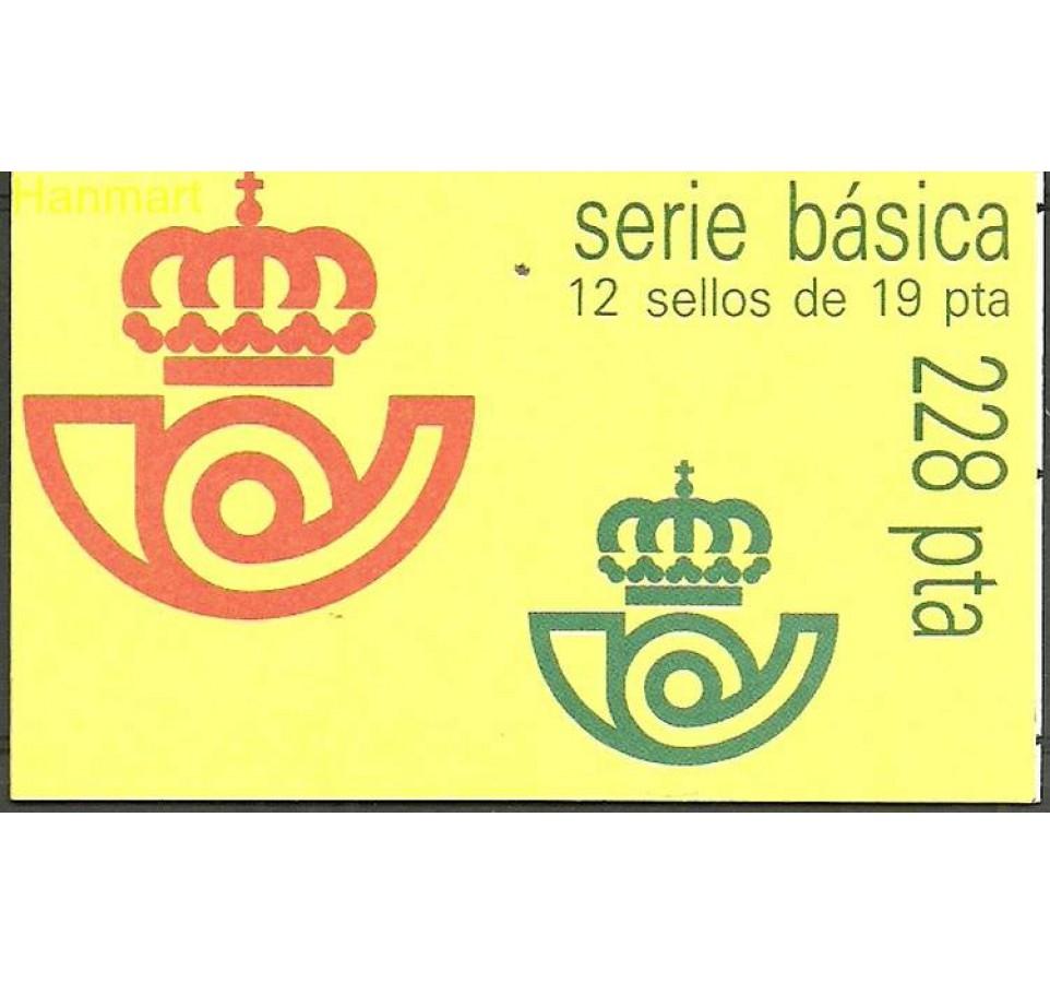 Hiszpania 1986 Mi mh O-4 Czyste **