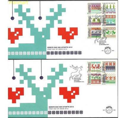 Znaczek Holandia 2012 Mi 3051-3060 FDC