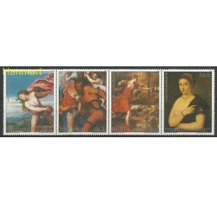 Znaczek Paragwaj 1989 Mi vie4310-4313 Czyste **