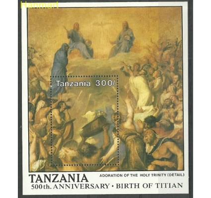 Znaczek Tanzania 1990 Mi bl 126 Czyste **