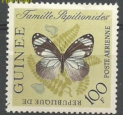 Gwinea 1963 Mi 197 Czyste **