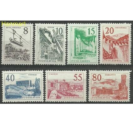 Znaczek Jugosławia 1959 Mi 891-897 Z podlepką *