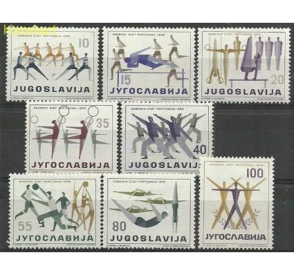 Jugosławia 1959 Mi 900-907 Z podlepką *