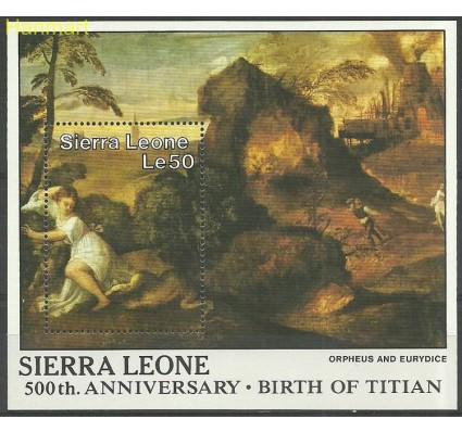Znaczek Sierra Leone 1988 Mi bl 82 Czyste **