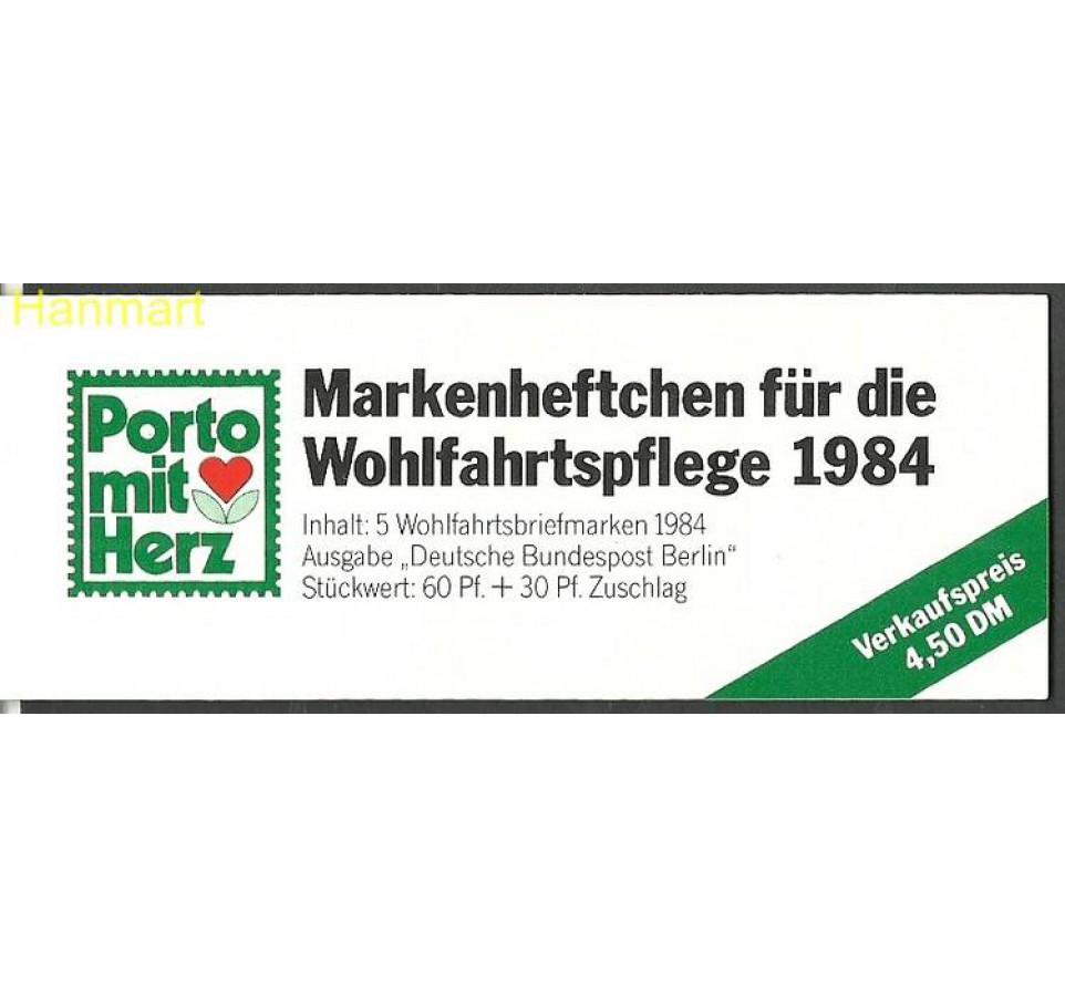 Berlin Niemcy 1984 Mi mh725 Czyste **