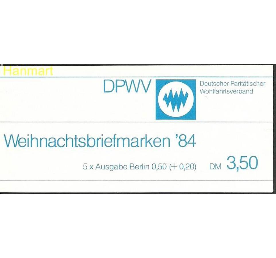 Berlin Niemcy 1984 Mi mh729e Czyste **