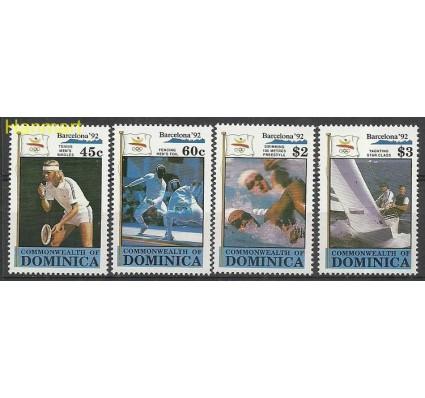 Znaczek Dominika 1990 Mi 1349-1352 Czyste **