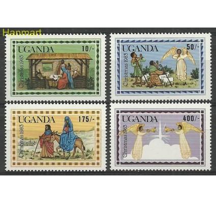 Znaczek Uganda 1983 Mi 390-393 Czyste **