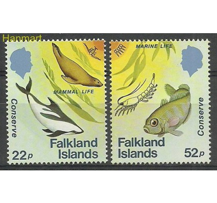 Znaczek Falklandy 1984 Mi 417-418 Czyste **