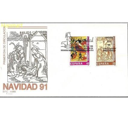 Znaczek Hiszpania 1991 Mi 3016-3017 FDC