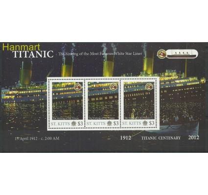 Znaczek Saint Kitts 2011 Mi per1272(bl5) Czyste **