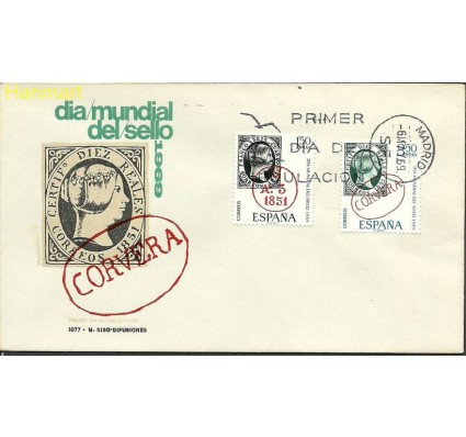 Hiszpania 1969 Mi 1809-1810 FDC