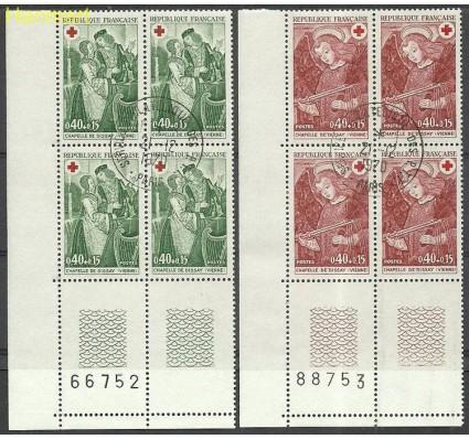Znaczek Francja 1970 Mi marvie1733-1734 Stemplowane