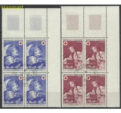 Francja 1971 Mi marvie1777-1778 Stemplowane