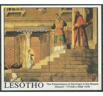 Znaczek Lesotho 1988 Mi bl 53 Czyste **