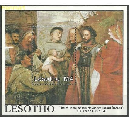 Znaczek Lesotho 1988 Mi bl 54 Czyste **