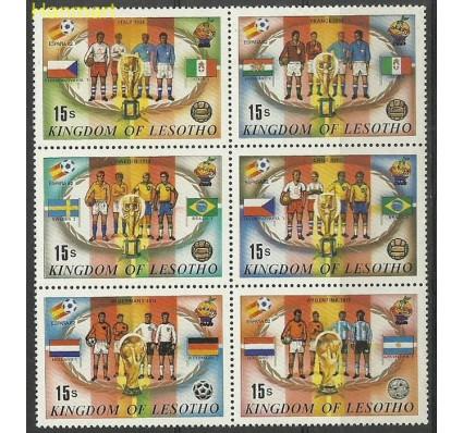 Znaczek Lesotho 1982 Mi ZS6 LSTsech374...383 Czyste **