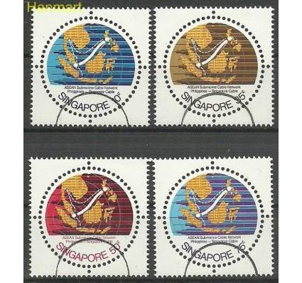 Znaczek Singapur 1980 Mi spe362-365 Czyste **