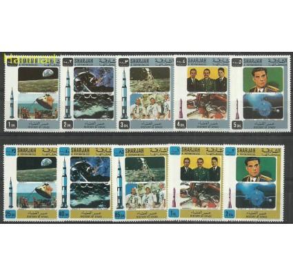 Znaczek Sharjah 1970 Mi 696-705 Czyste **