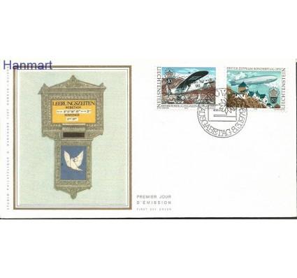 Znaczek Liechtenstein 1979 Mi S723-724 FDC