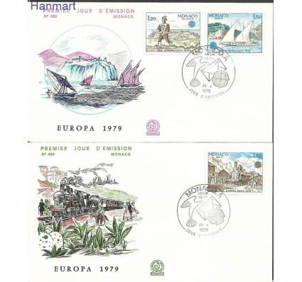 Znaczek Monako 1979 Mi 1375-1377 FDC