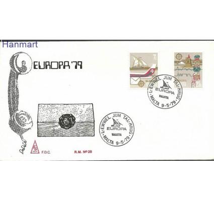 Znaczek Malta 1979 Mi 594-595 FDC