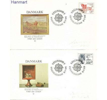 Znaczek Dania 1979 Mi adr686-687 FDC