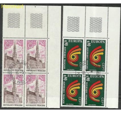 Znaczek Francja 1973 Mi marvie1826-1827 Stemplowane