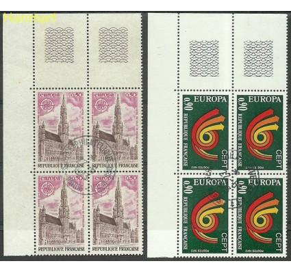 Znaczek Francja 1973 Mi marvie1826-1827b Stemplowane