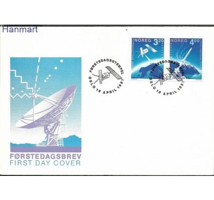 Znaczek Norwegia 1991 Mi 1062-1063 FDC
