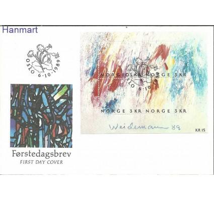 Norwegia 1989 Mi bl11 FDC