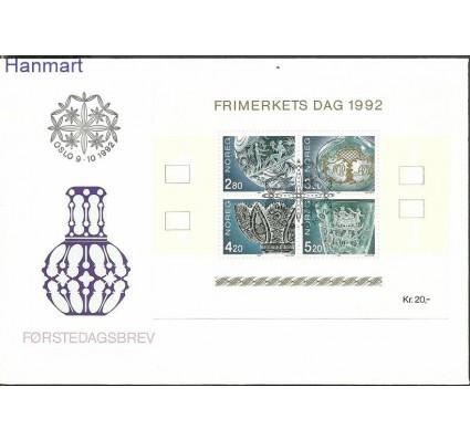 Norwegia 1992 Mi bl18 FDC