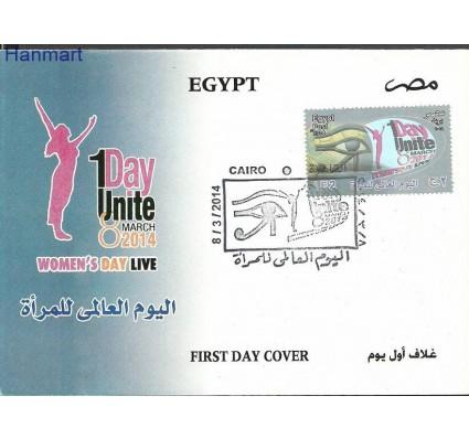 Znaczek Egipt 2014 Mi 2516 FDC