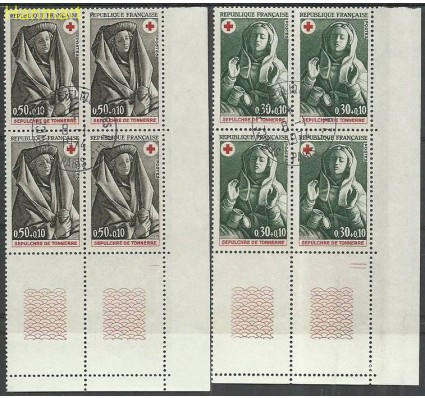 Znaczek Francja 1973 Mi marvie1859-1860 Stemplowane
