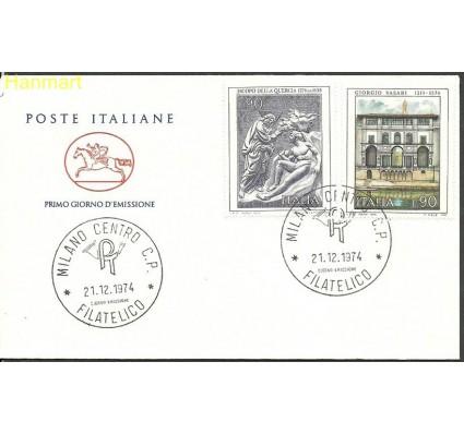 Znaczek Włochy 1974 Mi 1476+1477 FDC