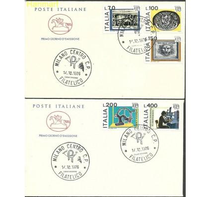 Znaczek Włochy 1976 Mi 1541-1545b FDC