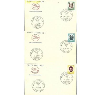 Znaczek Włochy 1977 Mi 1572-1576b FDC