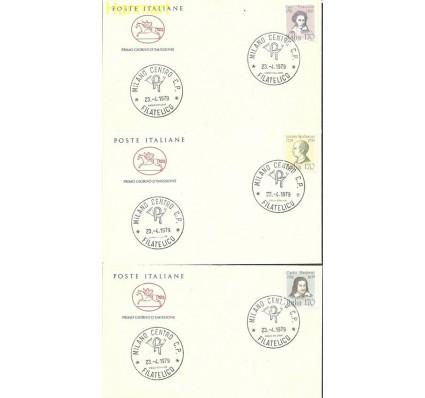 Znaczek Włochy 1979 Mi 1652-1656b FDC