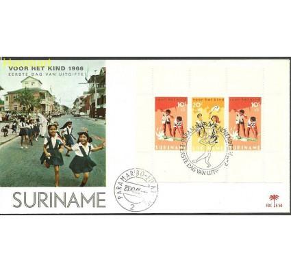 Surinam 1966 Mi bl6b FDC