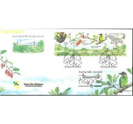Znaczek Singapur 2005 Mi vie1512-1515 FDC