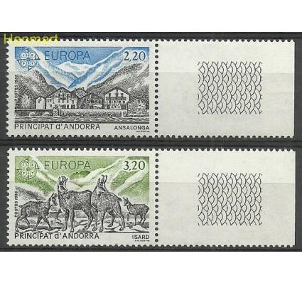 Andora Francuska 1986 Mi 369-370 Czyste **