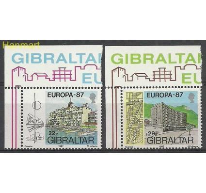 Znaczek Gibraltar 1987 Mi 519-520 Czyste **