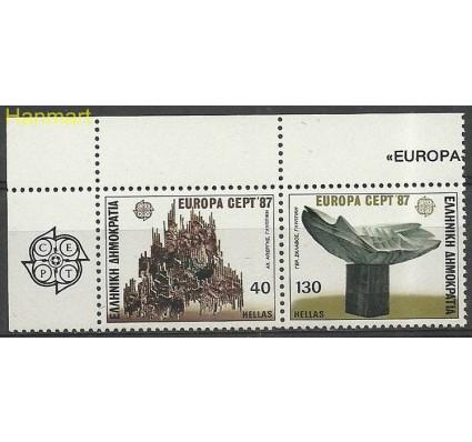 Grecja 1987 Mi marpar1651-1652 Czyste **