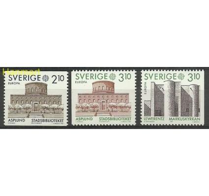 Znaczek Szwecja 1987 Mi 1428-1430 Czyste **
