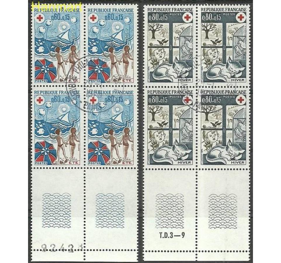 Francja 1974 Mi 1898-1899 Stemplowane