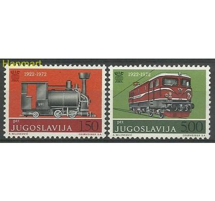 Znaczek Jugosławia 1972 Mi 1469-1470 Czyste **