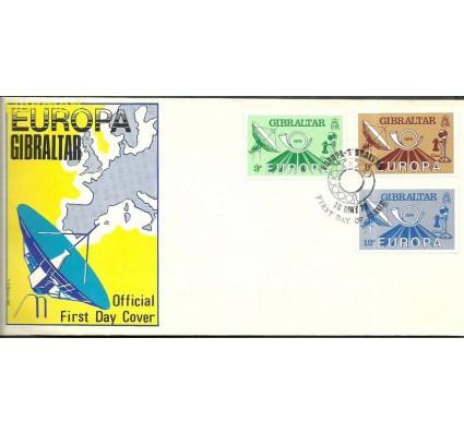 Znaczek Gibraltar 1979 Mi 392-394 FDC